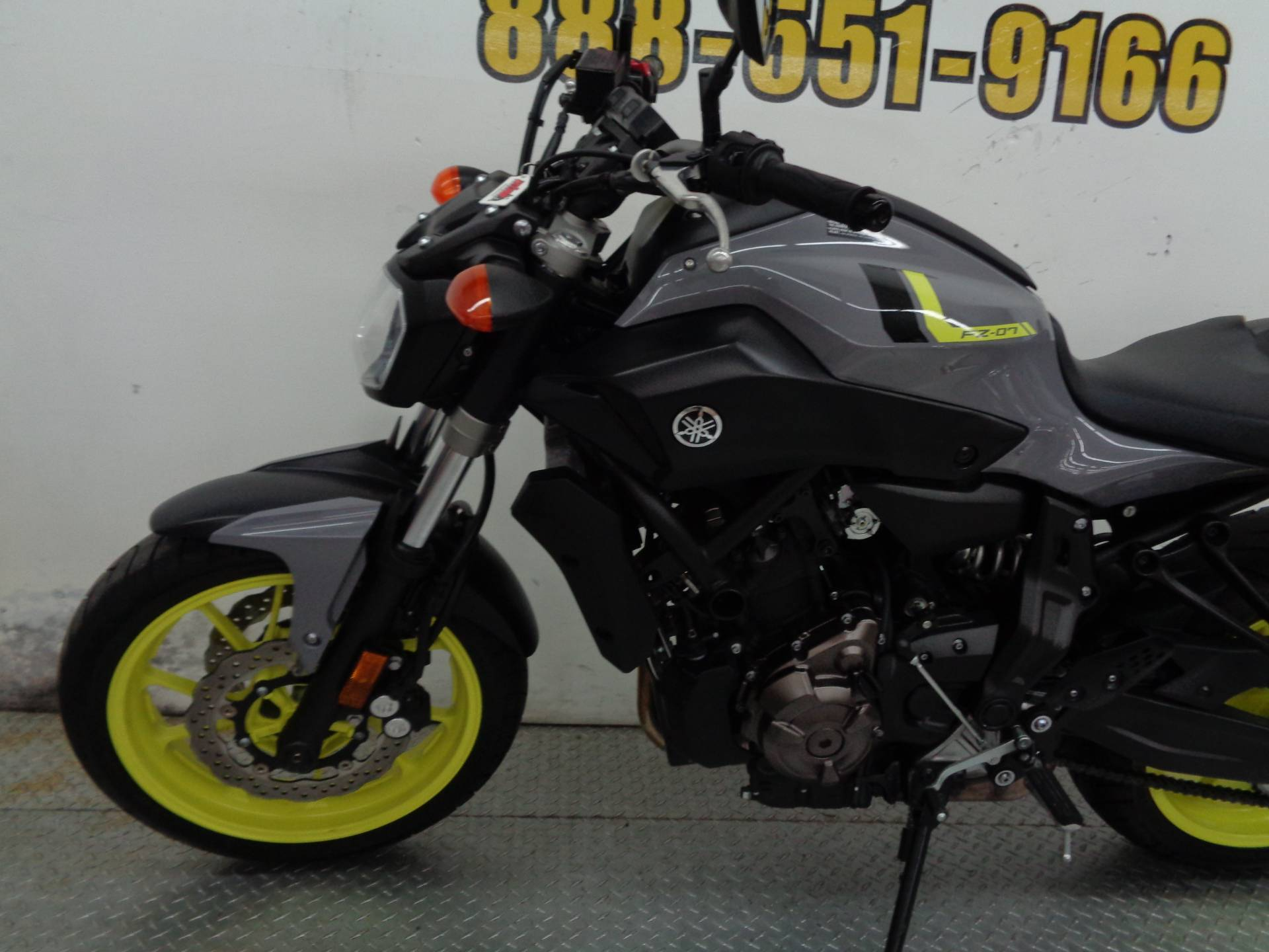 2016 Yamaha FZ-07 5
