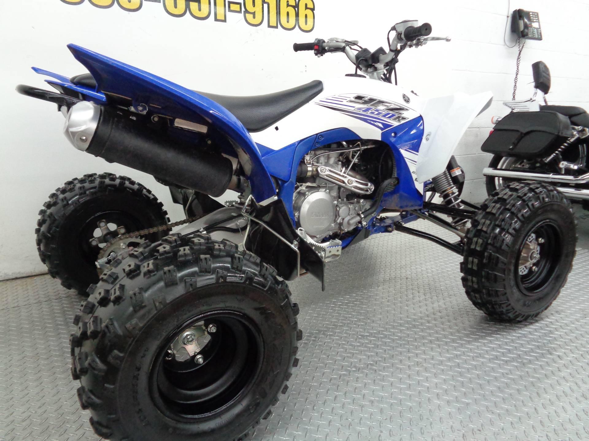 2016 Yamaha YFZ450R 5