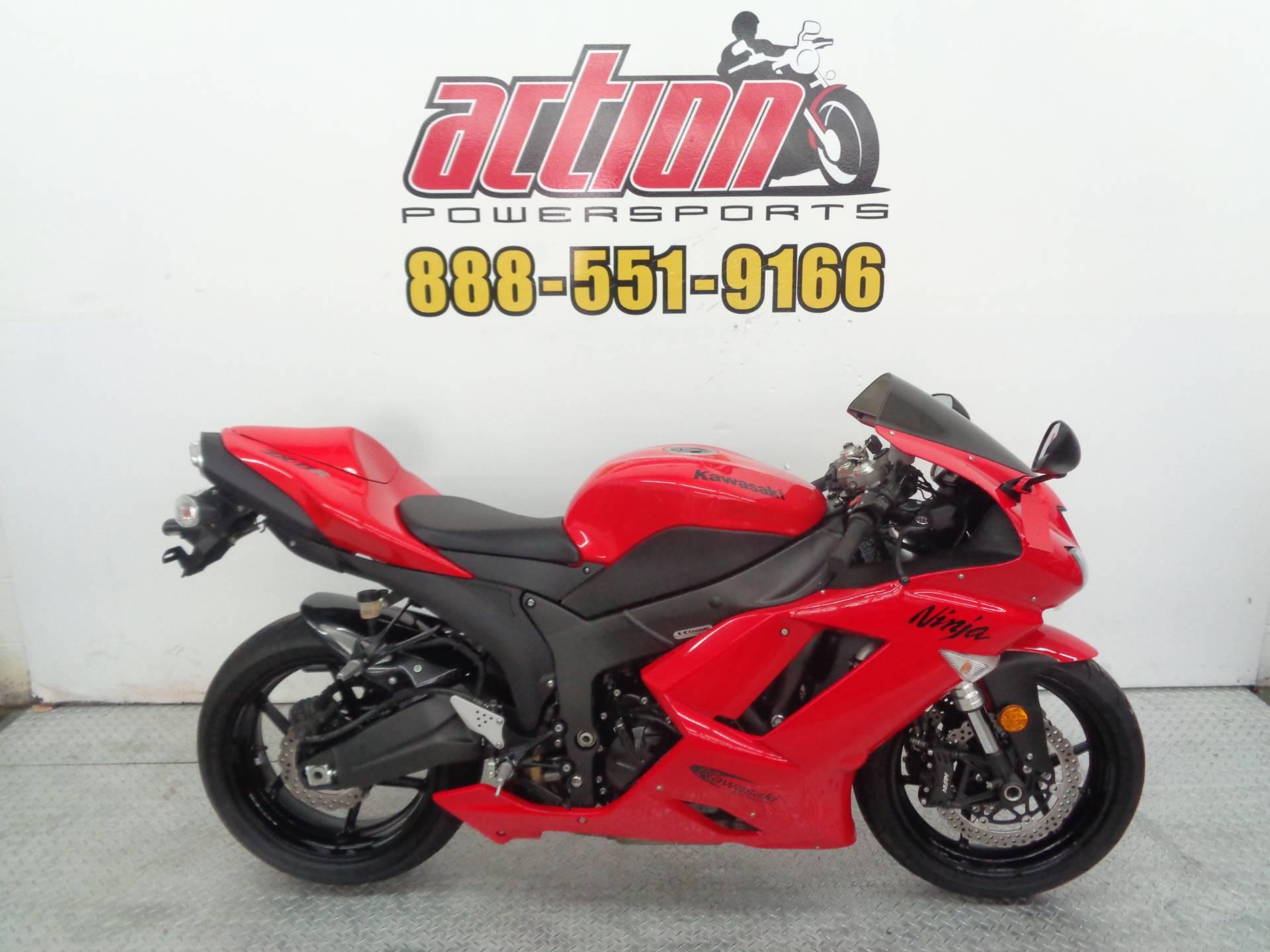 2007 Kawasaki Ninja Zx 6r For Sale Tulsa Ok 98358