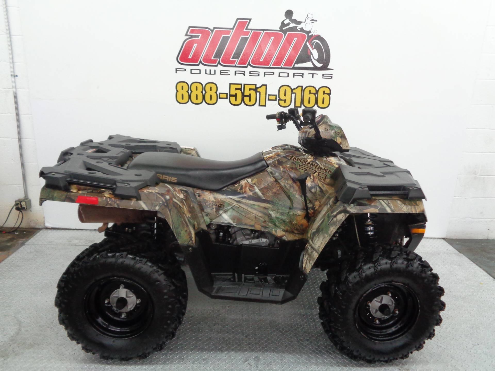 Used 2014 Polaris Sportsman 570 Eps Atvs In Tulsa Ok Stock