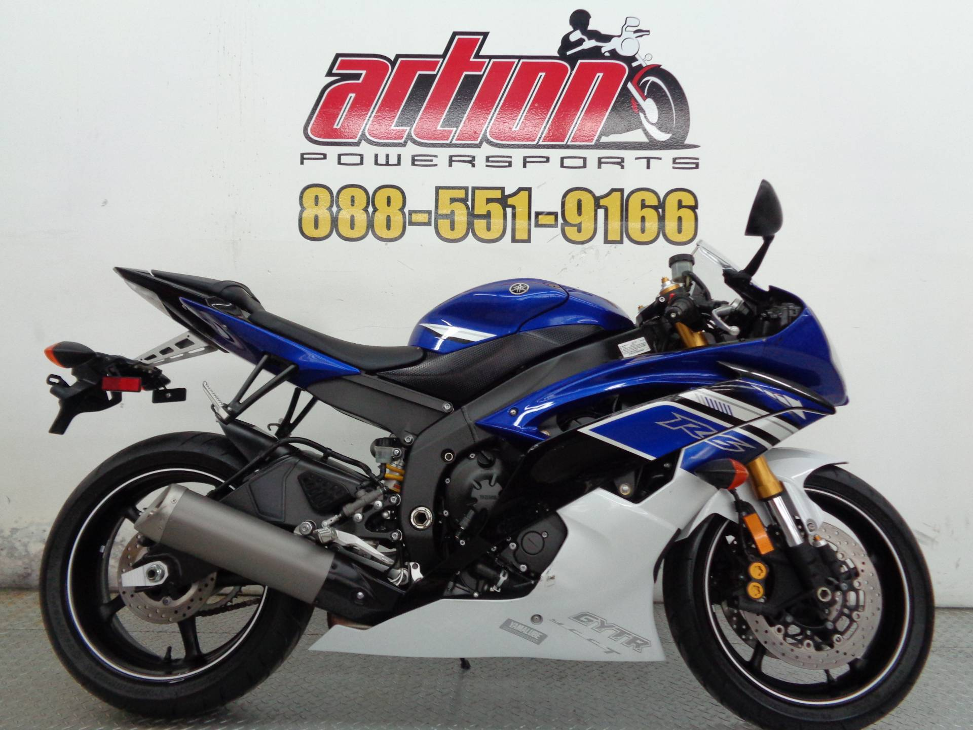 2013 Yamaha YZF-R6 for sale 89080
