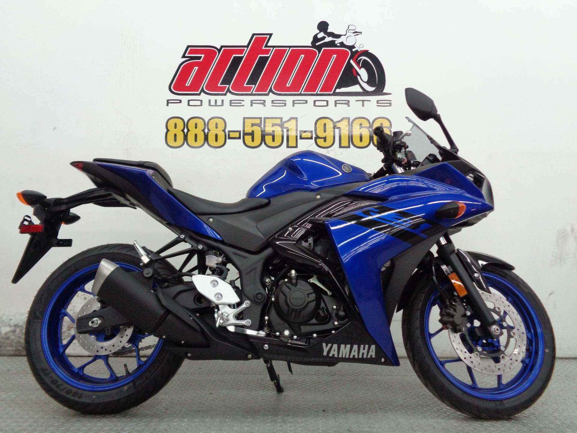 New 2018 yamaha yzf r3 motorcycles in tulsa ok stock for Yamaha installment financing