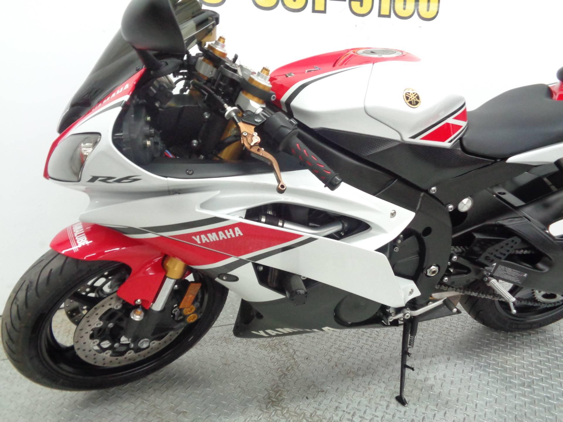 2012 Yamaha YZF-R6 World GP 50th Anniversary Edition 6