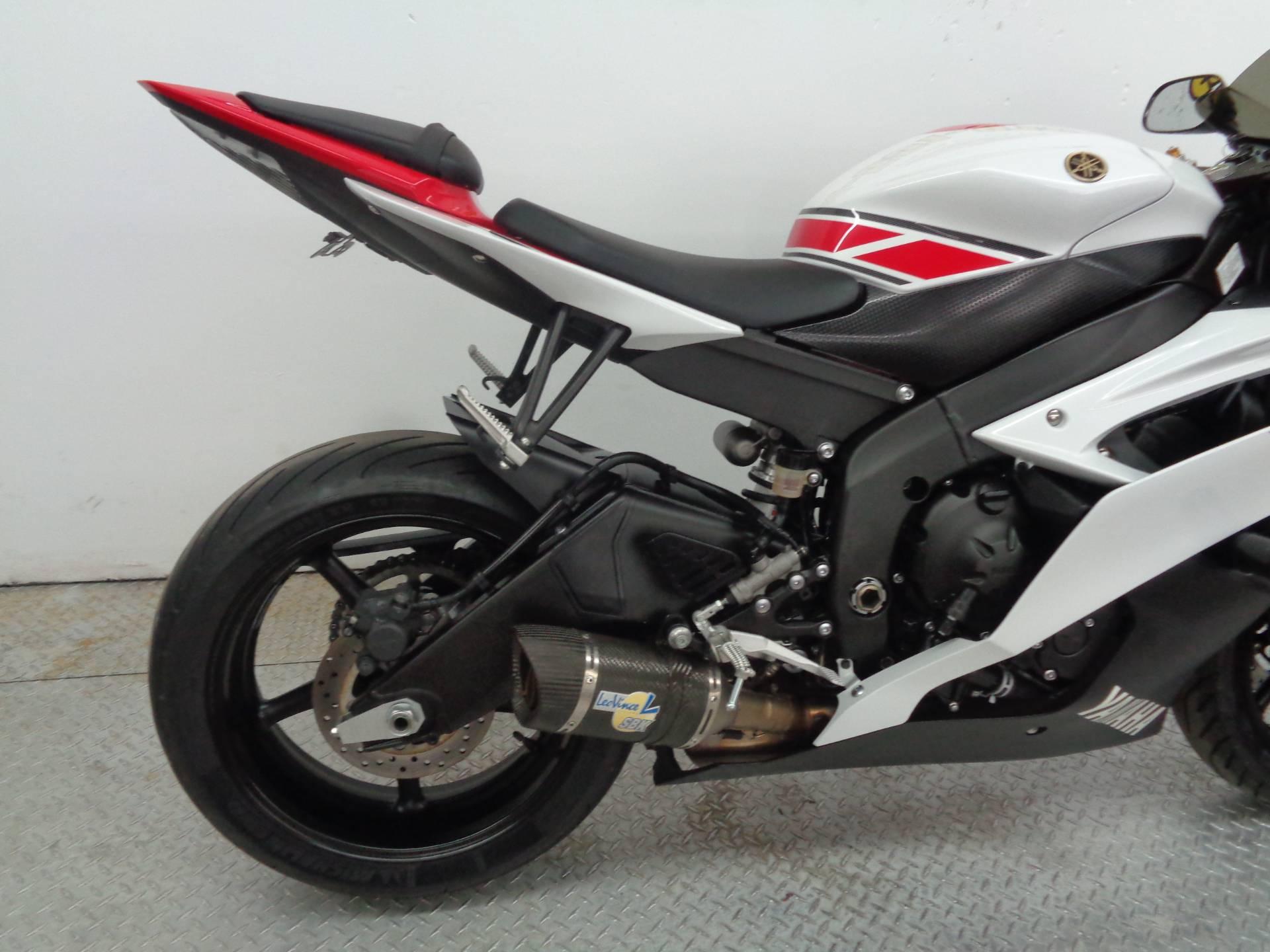 2012 Yamaha YZF-R6 World GP 50th Anniversary Edition 11