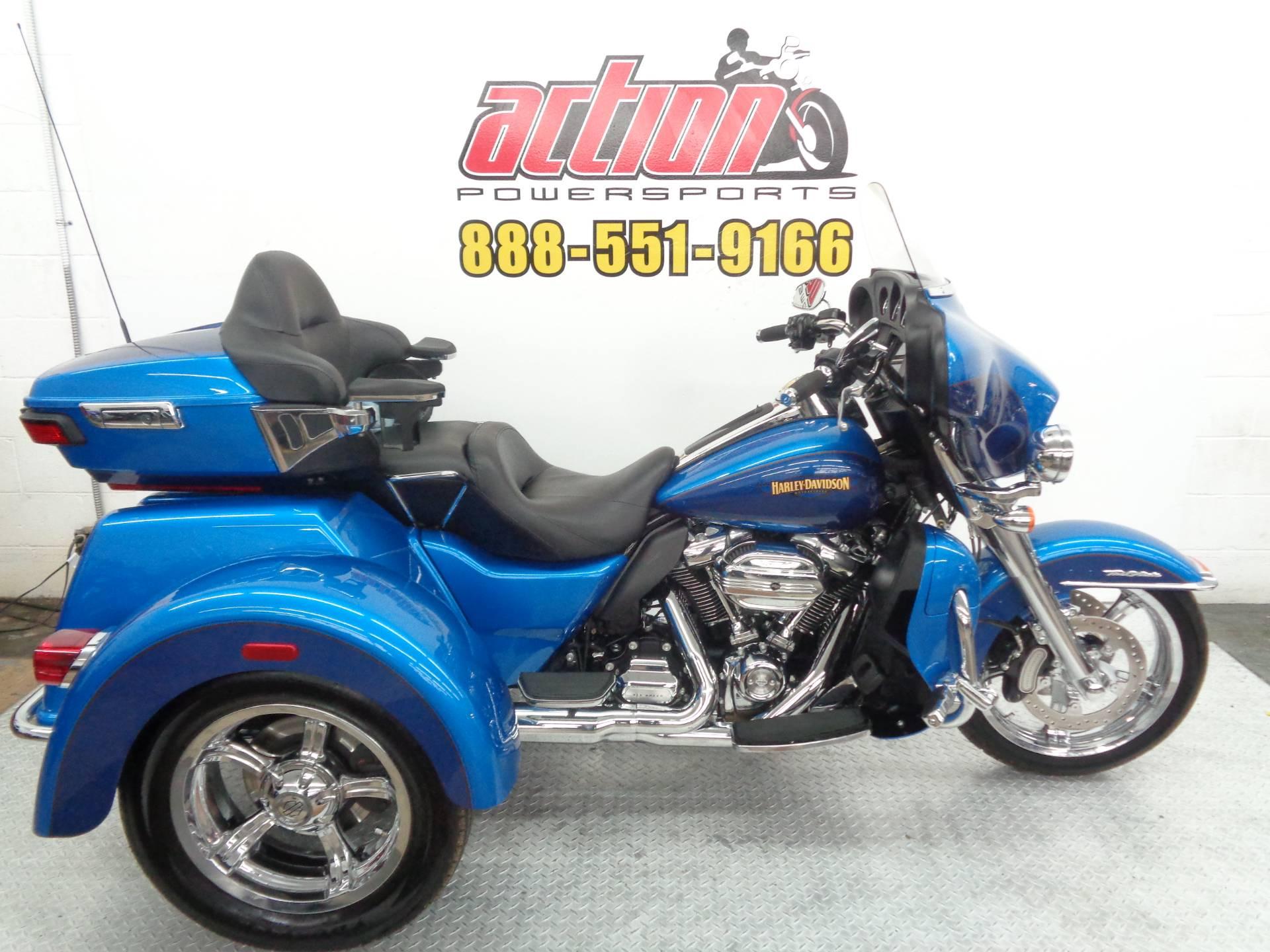 Used 2017 Harley Davidson Tri Glide Ultra Trikes In Tulsa Ok
