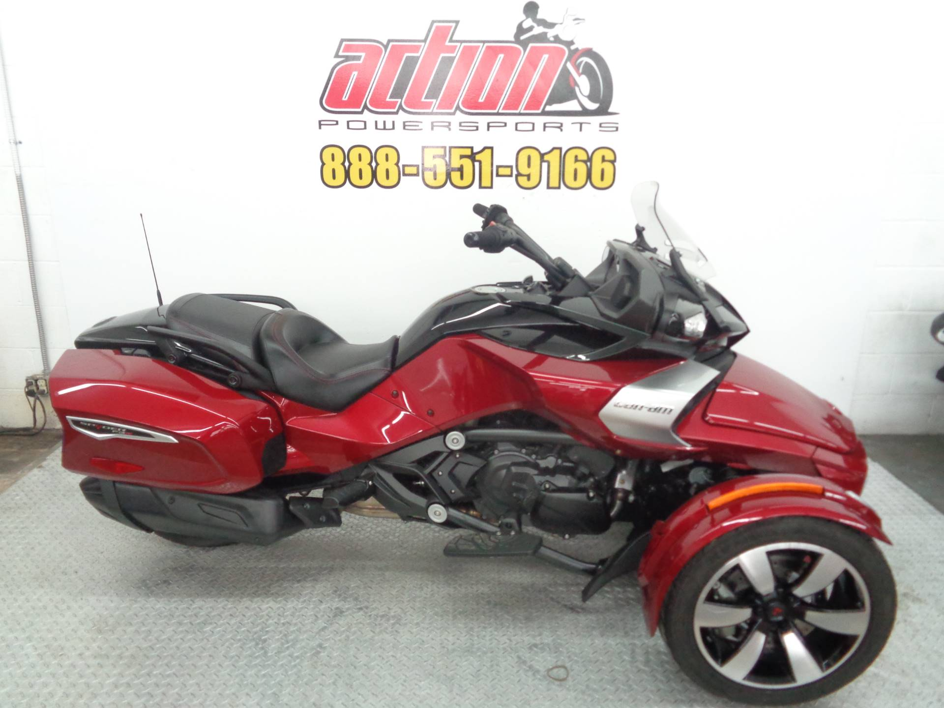 2016 Can-Am Spyder F-3T in Tulsa, Oklahoma - Photo 1
