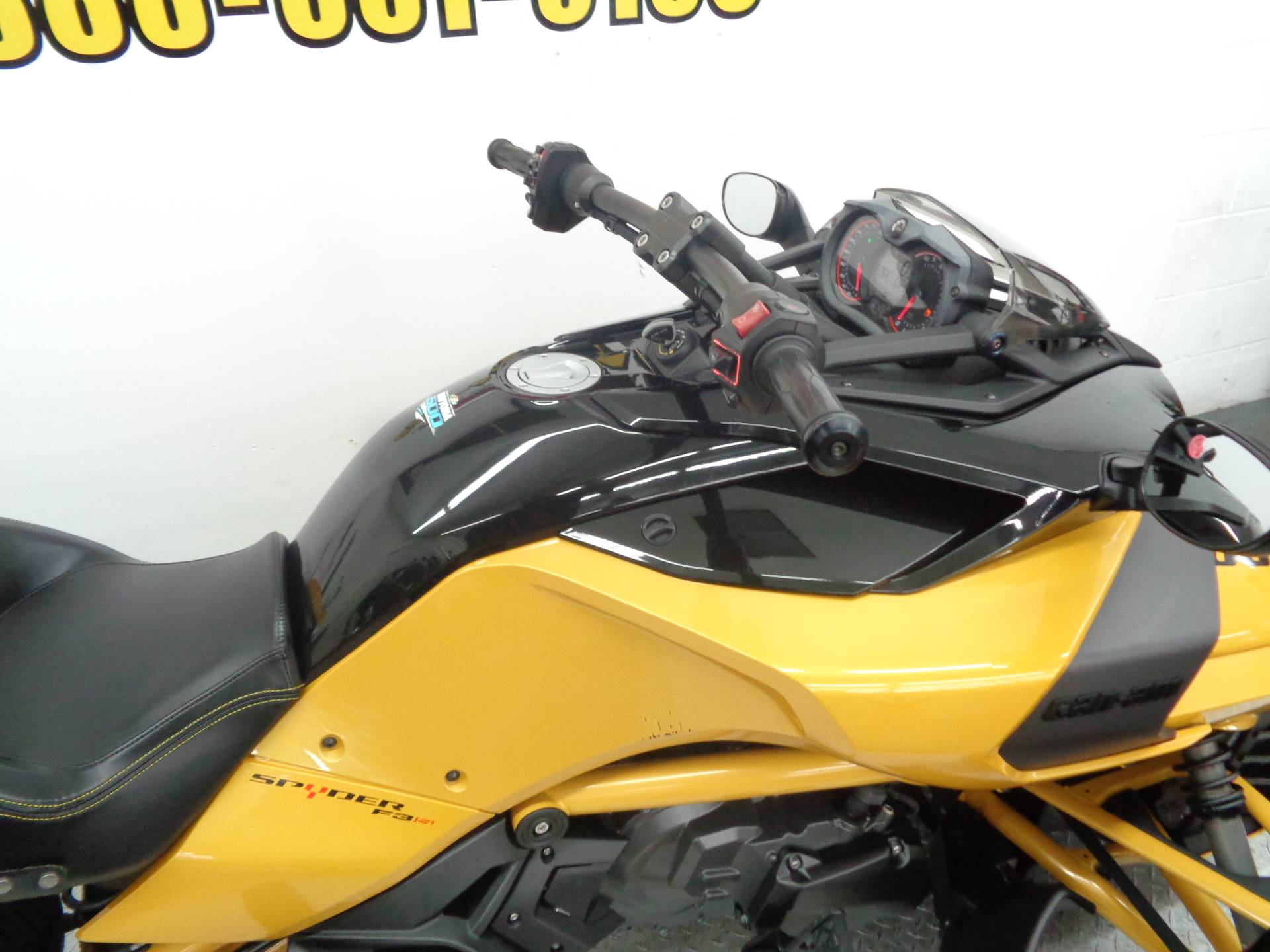 2017 Can-Am Spyder F3-S Daytona 500 SE6 in Tulsa, Oklahoma