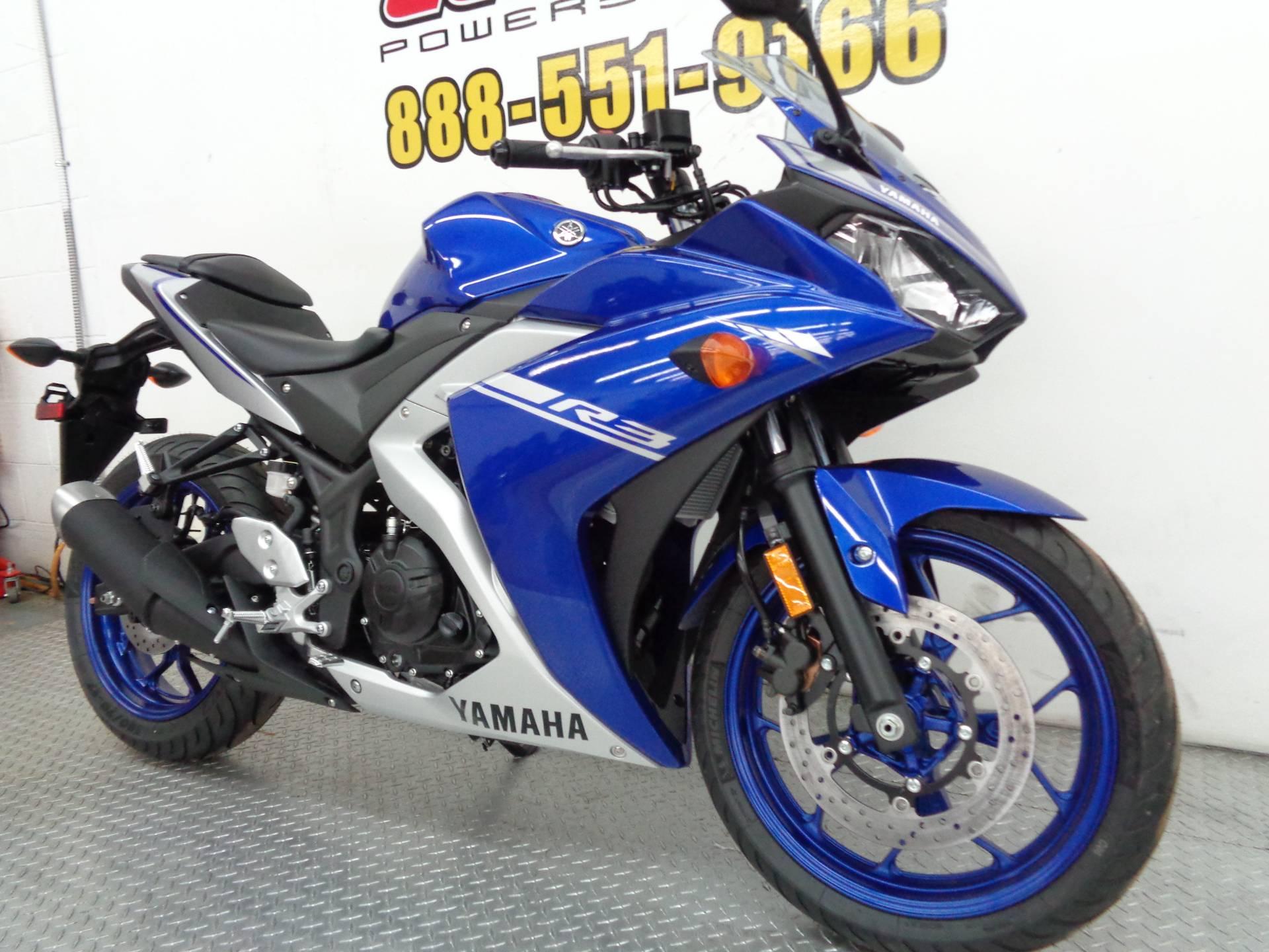 2017 Yamaha YZF-R3 2