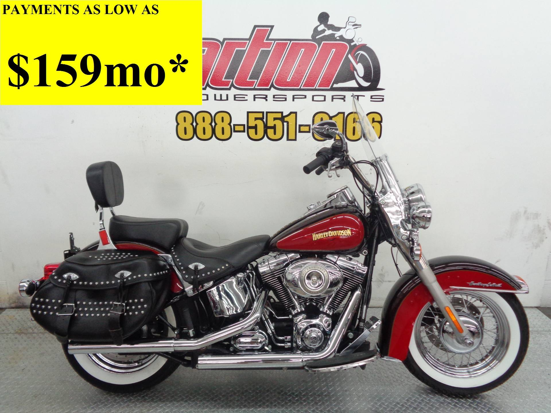 2010 Harley-Davidson Heritage Softail Classic for sale 6523