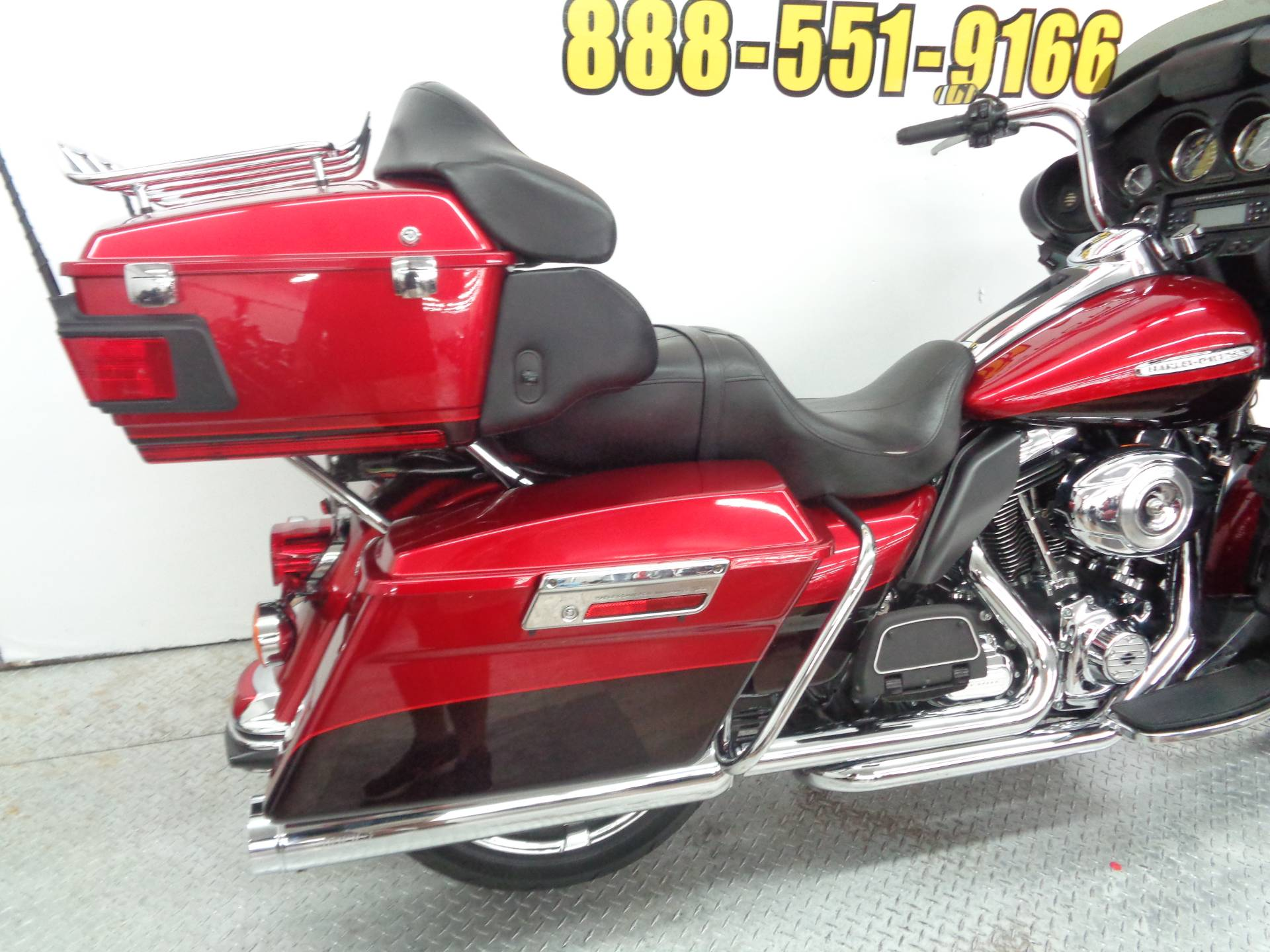 Used 2012 Harley Davidson Electra Glide Ultra Limited Motorcycles Red In Tulsa Oklahoma