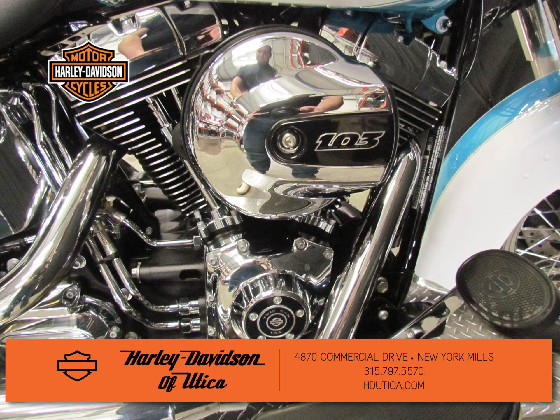 2016 Harley-Davidson Heritage Softail® Classic in New York Mills, New York