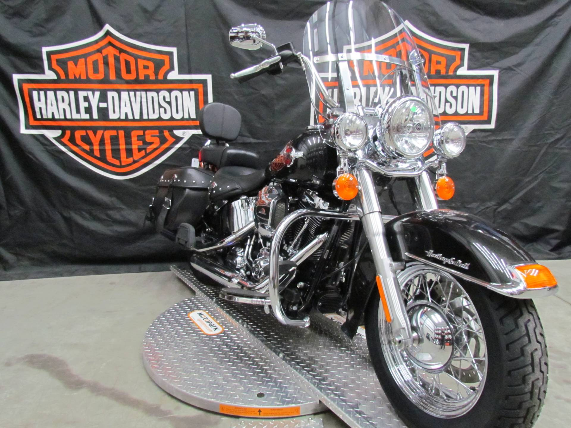 Used 2017 Harley Davidson Heritage Softail Classic Motorcycles In New York Mills