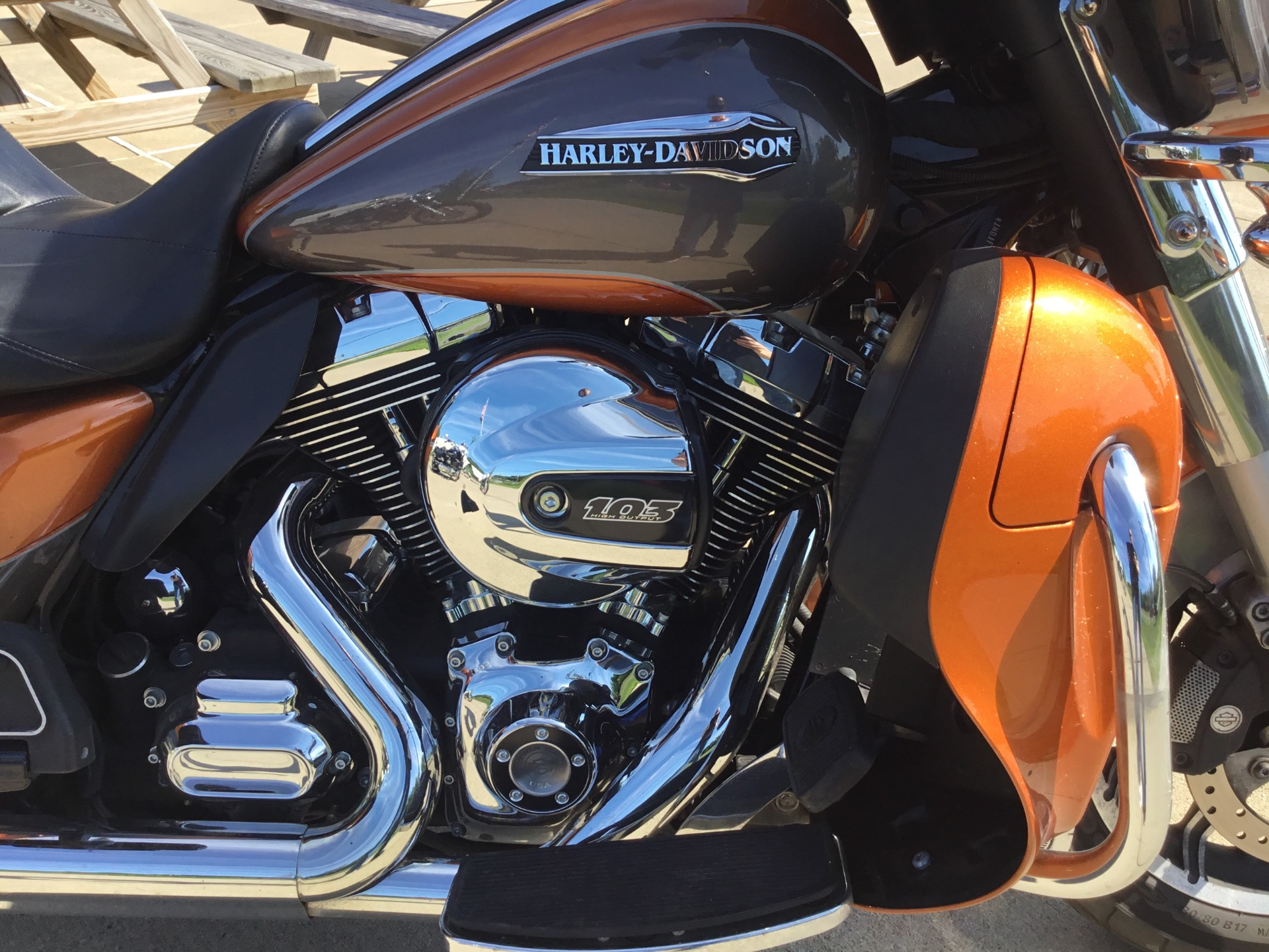 2015 Harley-Davidson Electra Glide® Ultra Classic® in New York Mills, New York