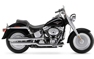2004 Harley-Davidson FLSTF/FLSTFI Fat Boy® in New York Mills, New York