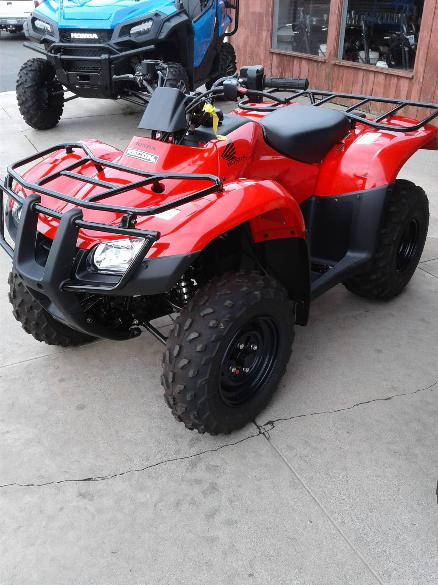 2018 Honda FourTrax Recon ES in Gridley, California