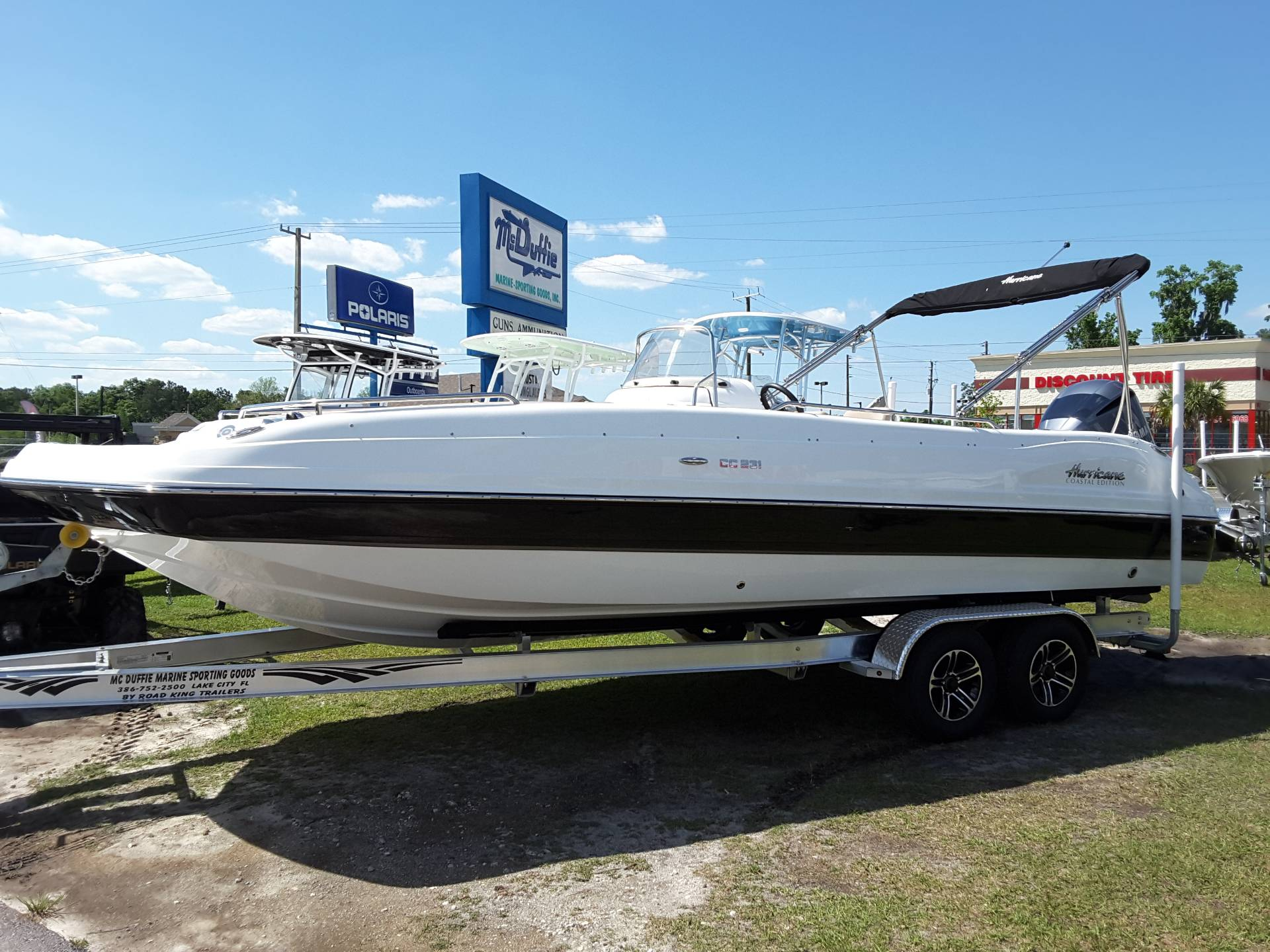 2018 Hurricane SS 231 in Lake City, Florida