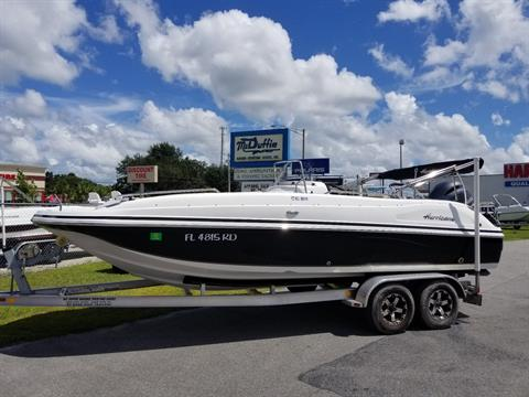 2016 Hurricane SunDeck Sport 211 OB in Lake City, Florida