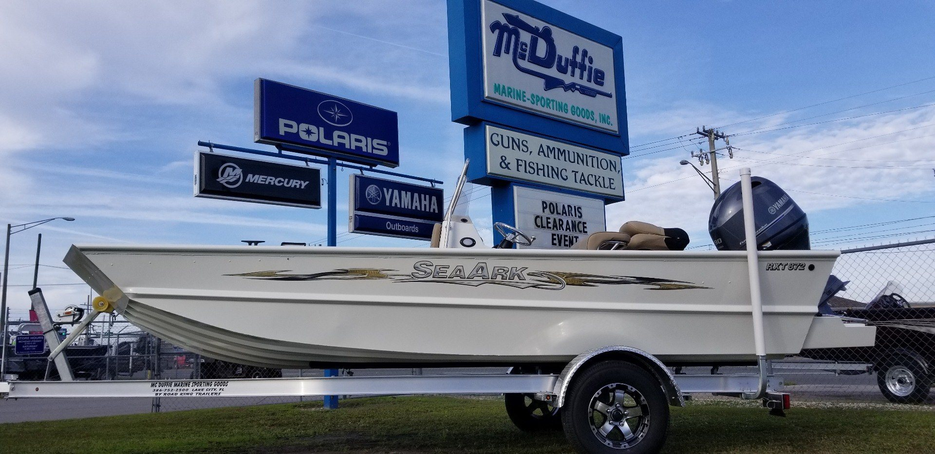 2019 SeaArk RXT 872 CC in Lake City, Florida
