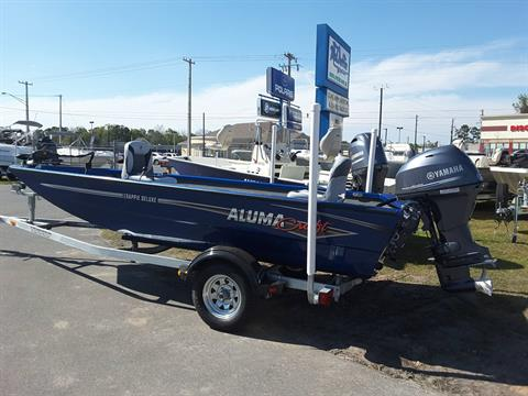 2018 Alumacraft Crappie Deluxe in Lake City, Florida