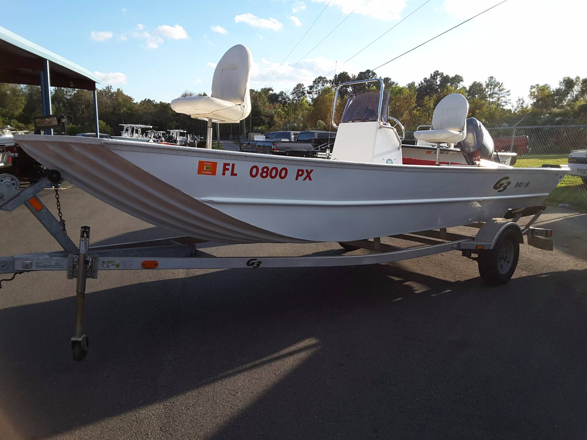 2015 G3 Bay 18 in Lake City, Florida