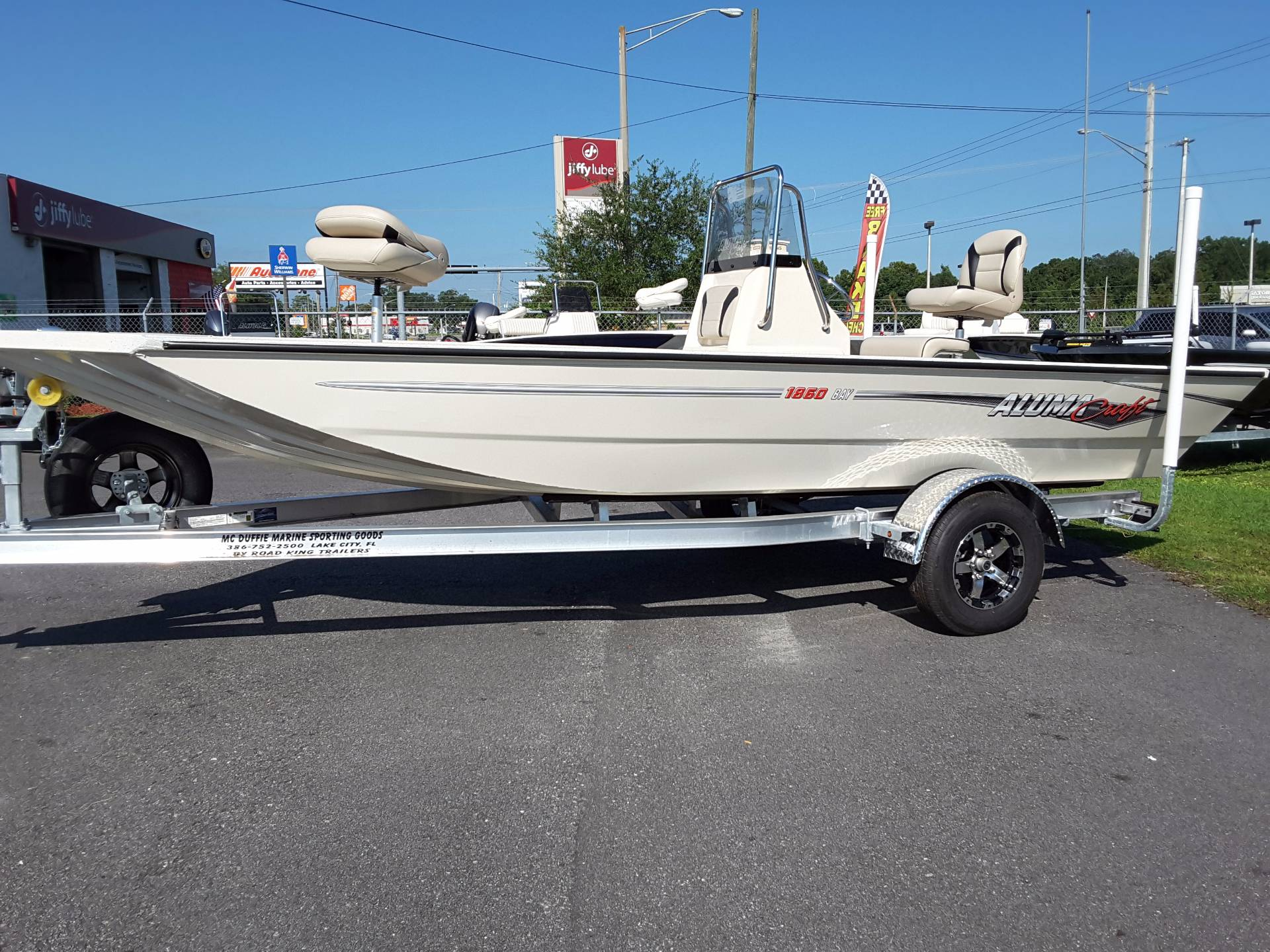 2018 Alumacraft 1860 Bay in Lake City, Florida