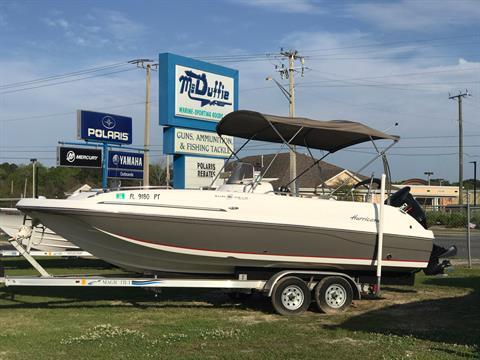 2014 Hurricane SunDeck Sport 211 OB in Lake City, Florida - Photo 1