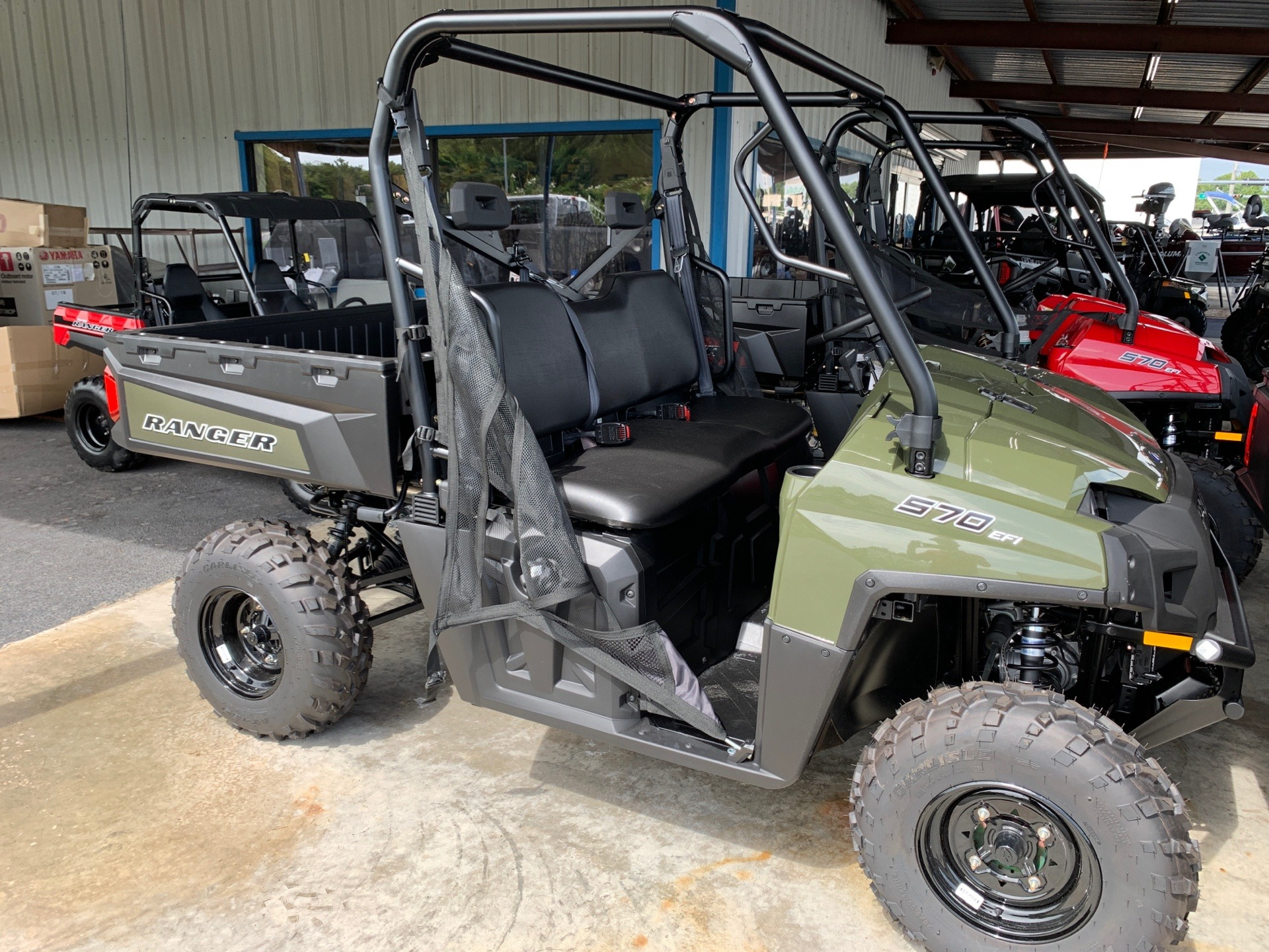 2021 Polaris Ranger 570 Full-Size in Lake City, Florida - Photo 1
