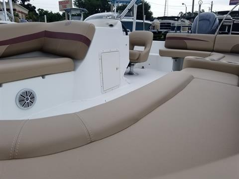 2018 Hurricane SunDeck Sport 201 OB in Lake City, Florida