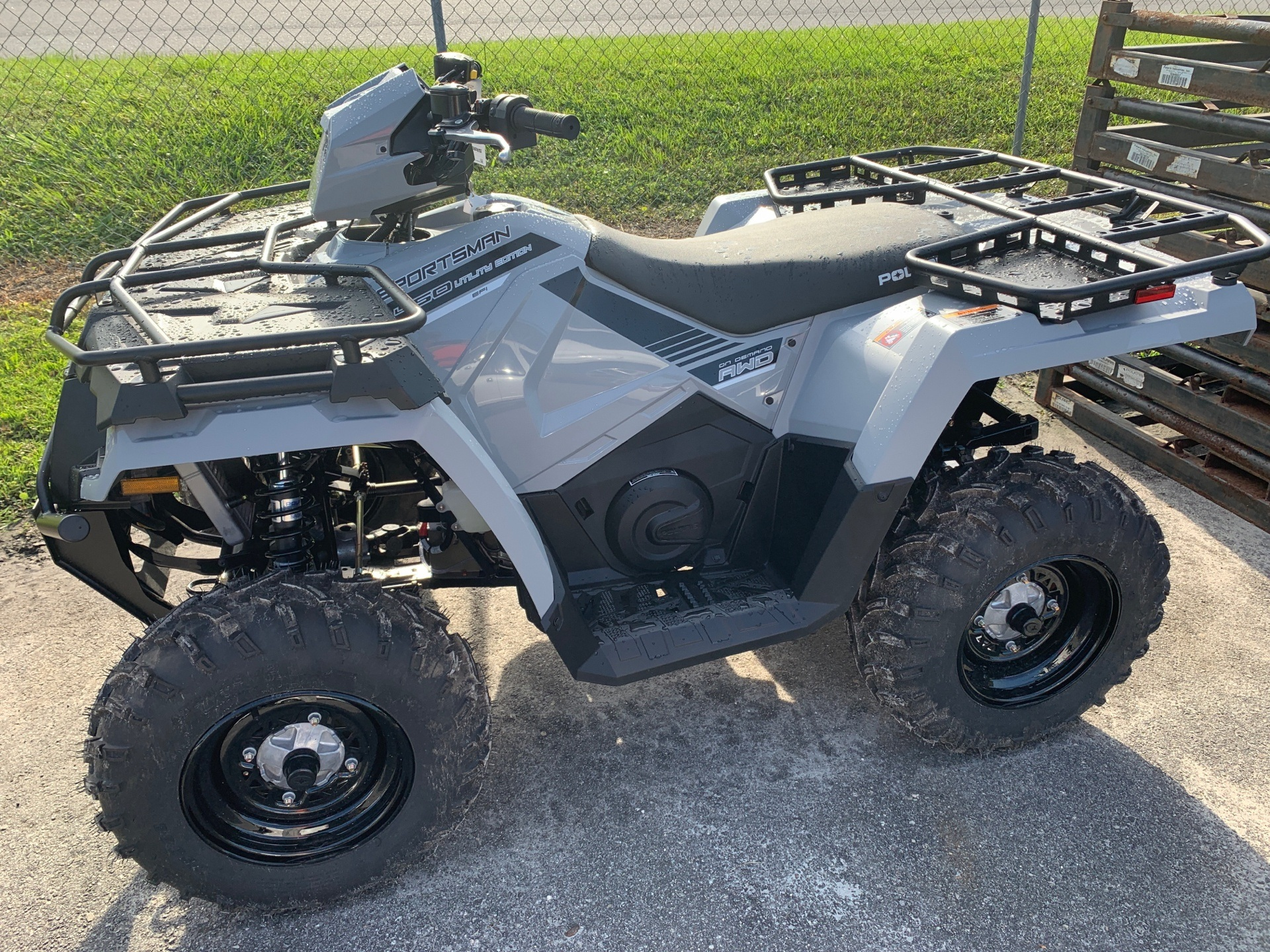 2019 Polaris Sportsman 450 H.O. Utility Edition in Lake City, Florida - Photo 1
