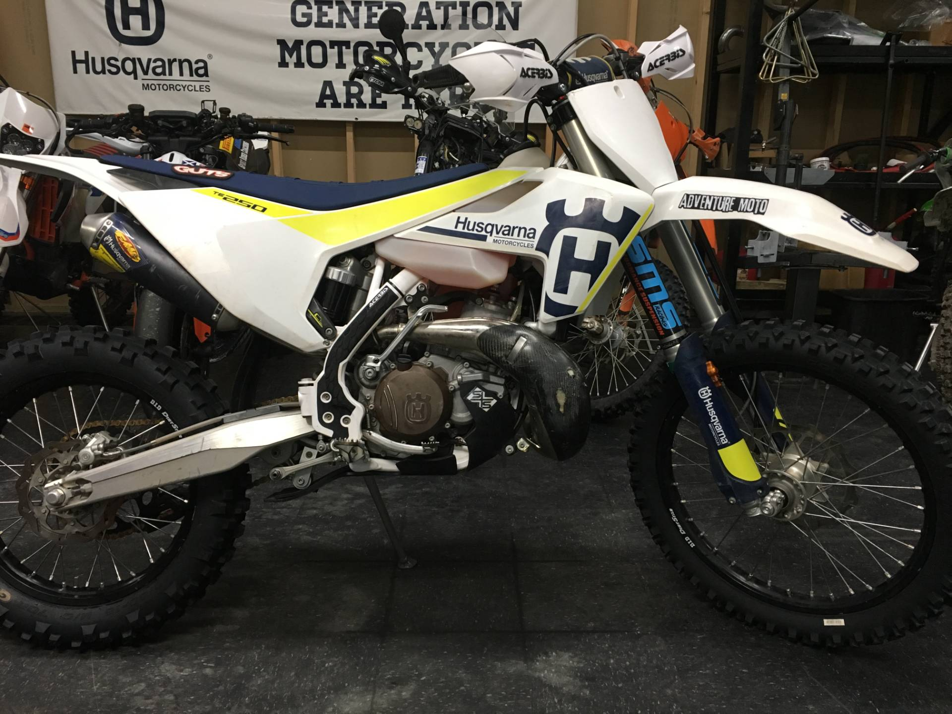 2017 Husqvarna TE 300 in Denton, Texas