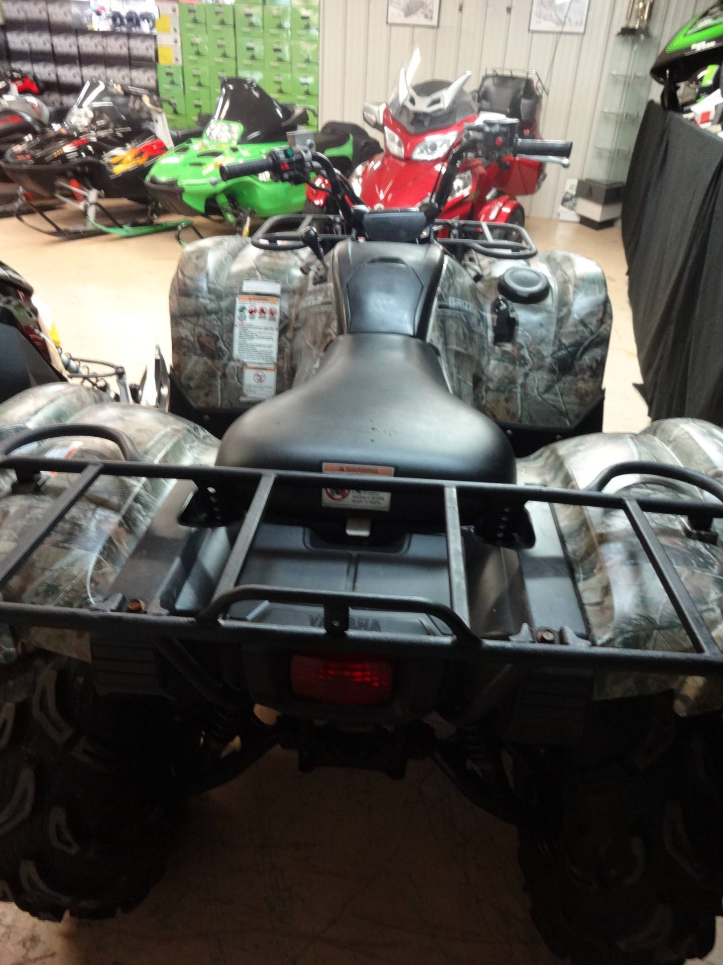 2014 Yamaha Grizzly 550 FI Auto. 4x4 EPS in Zulu, Indiana - Photo 3