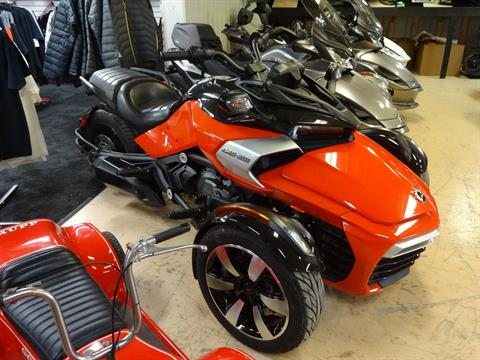 2015 Can-Am Spyder® F3-S SE6 in Zulu, Indiana - Photo 1