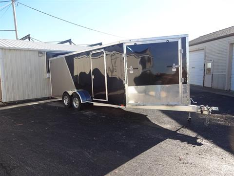 2018 Lightning Trailers Enclosed - 3 sled in Zulu, Indiana