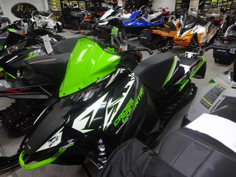 2018 Arctic Cat XF 8000 Cross Country Limited ES Early Build in Zulu, Indiana