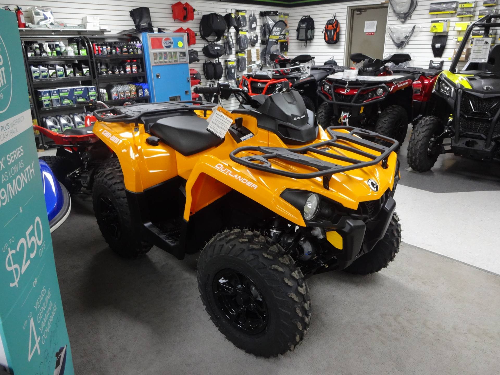 2019 Can-Am Outlander DPS 570 in Zulu, Indiana - Photo 1