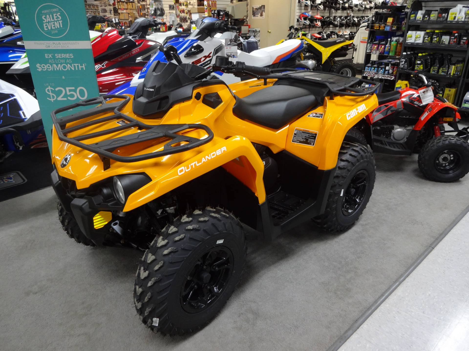 2019 Can-Am Outlander DPS 570 in Zulu, Indiana - Photo 2