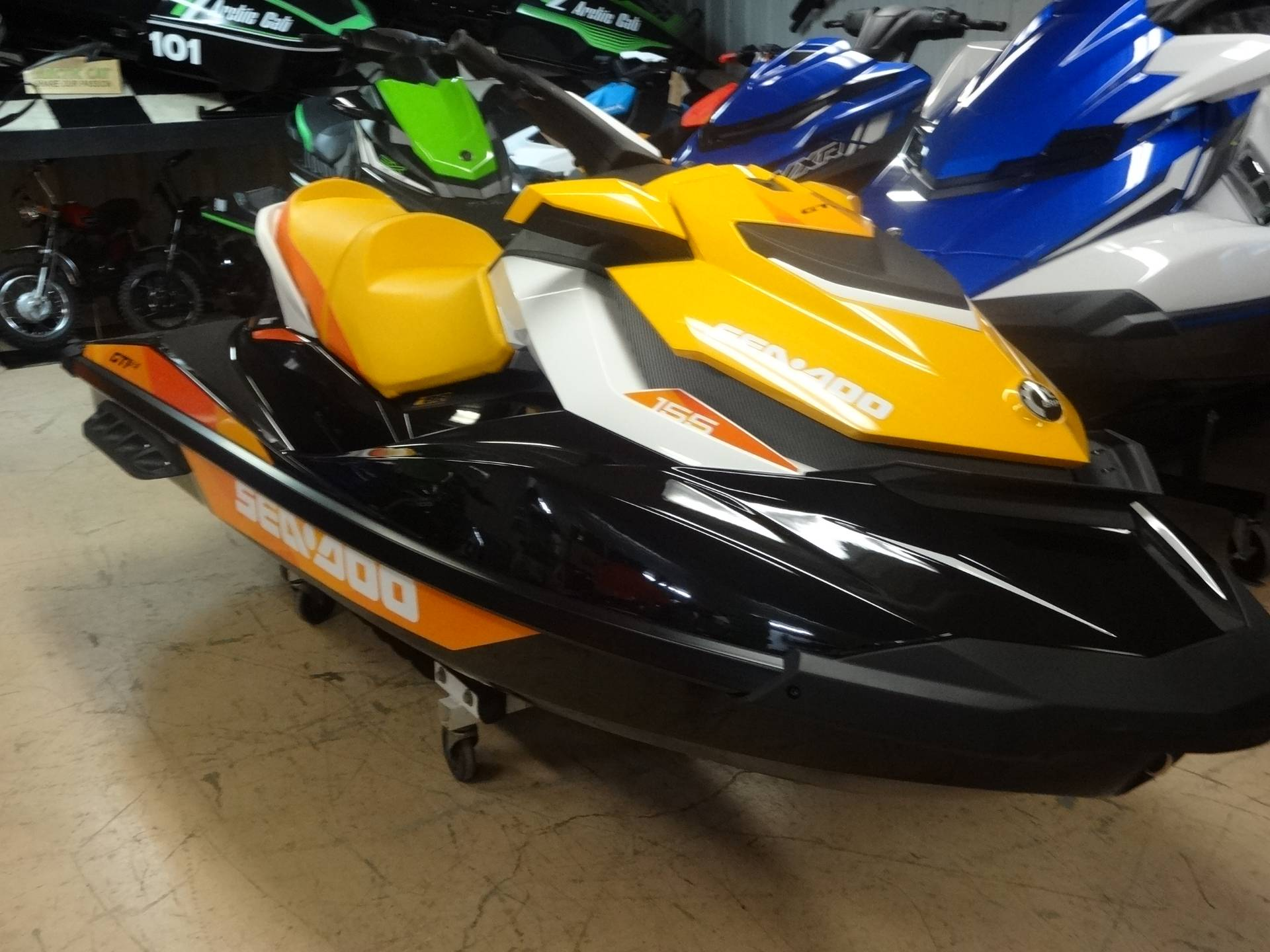 2018 Sea-Doo GTI SE 155 in Zulu, Indiana