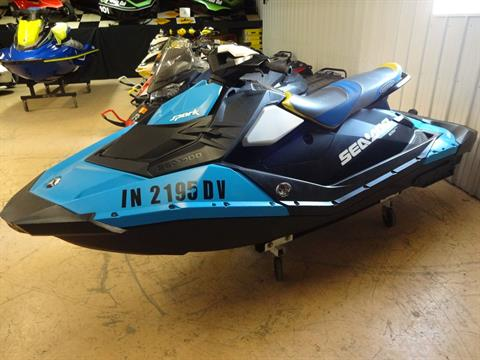 2015 Sea-Doo Spark™ 3up 900 H.O. ACE™ iBR Convenience Package in Zulu, Indiana