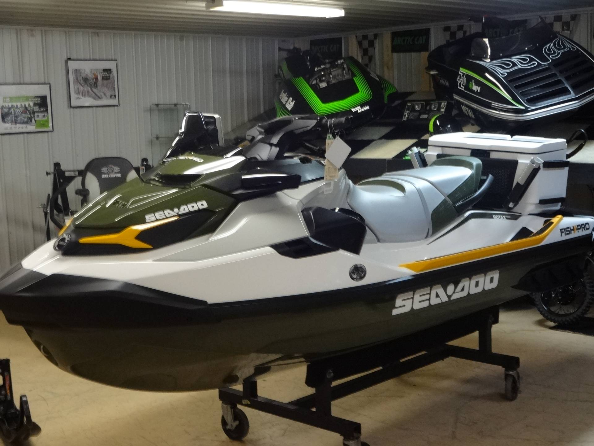 2019 Sea-Doo Fish Pro iBR + Sound System in Zulu, Indiana - Photo 1