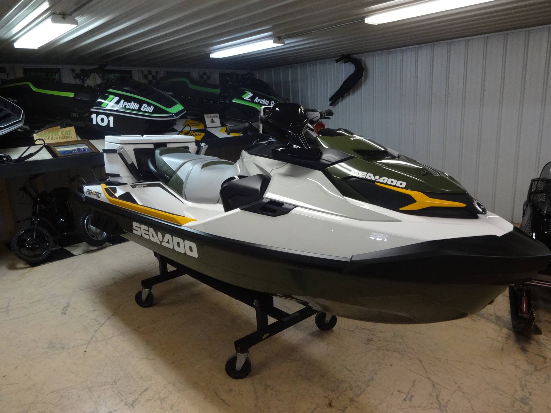 2019 Sea-Doo Fish Pro iBR + Sound System in Zulu, Indiana - Photo 2