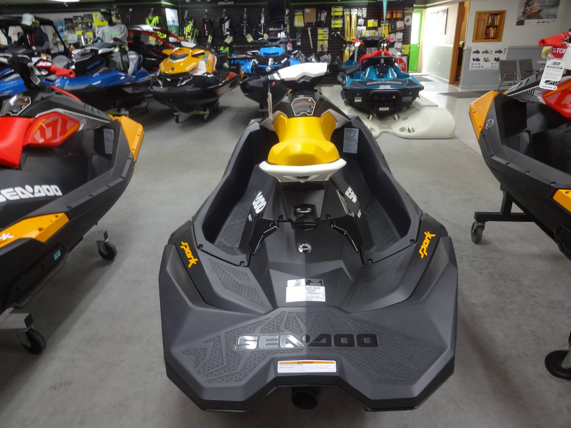 2018 Sea-Doo SPARK 3up 900 H.O. ACE in Zulu, Indiana