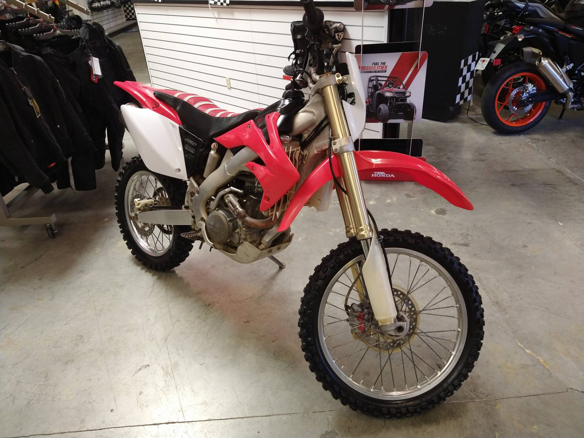 2004 Honda CRF250X in Fremont, California - Photo 6
