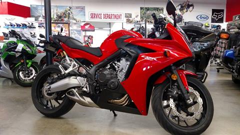 2014 Honda CBR®650F in Fremont, California