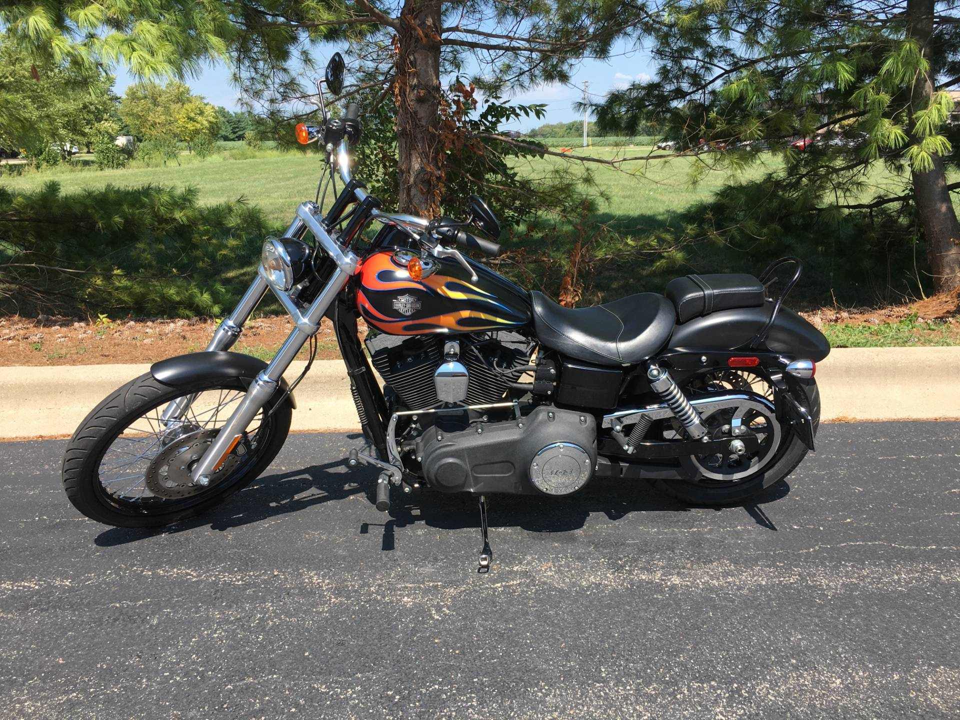 2015 Harley-Davidson Wide Glide in Forsyth, Illinois