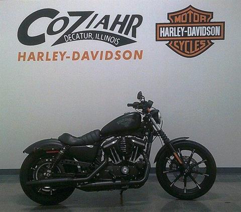 2017 Harley-Davidson Iron 883 in Forsyth, Illinois