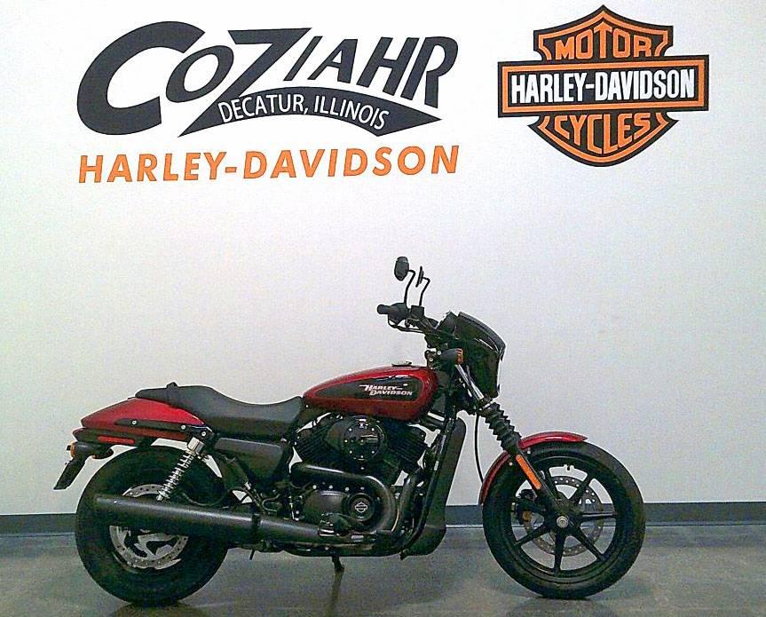 2018 Harley-Davidson Street 500 Motorcycles Forsyth Illinois 18-02