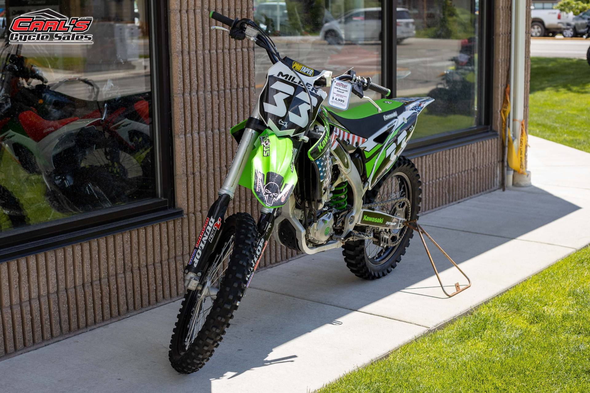 2015 Kawasaki KX™450F in Boise, Idaho - Photo 4