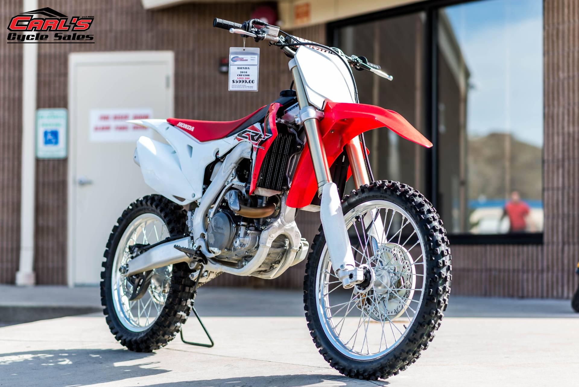 2016 Honda CRF450R in Boise, Idaho