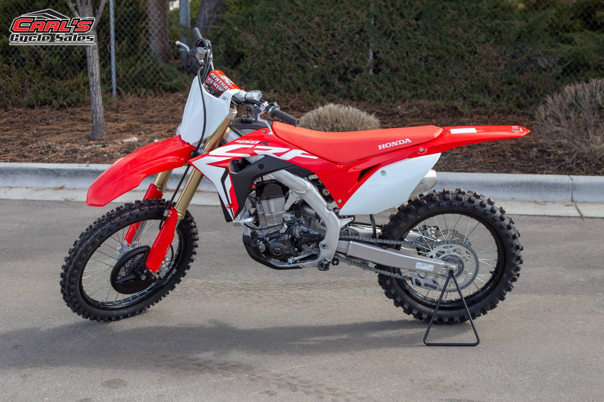 New 2019 Honda Crf450r Motorcycles In Boise Id Red 202662