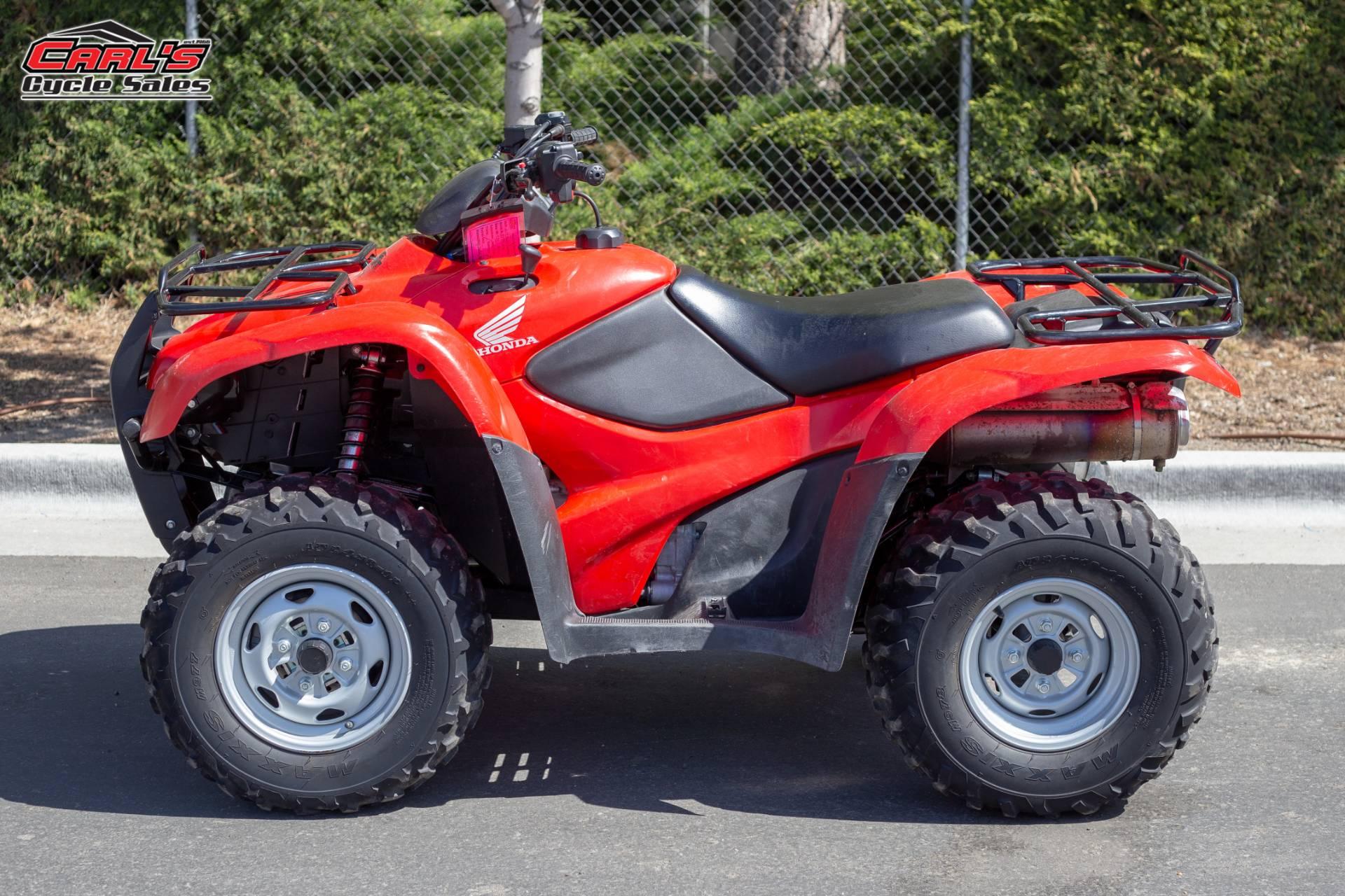 2014 Honda FourTrax Rancher 4x4 DCT EPS 1